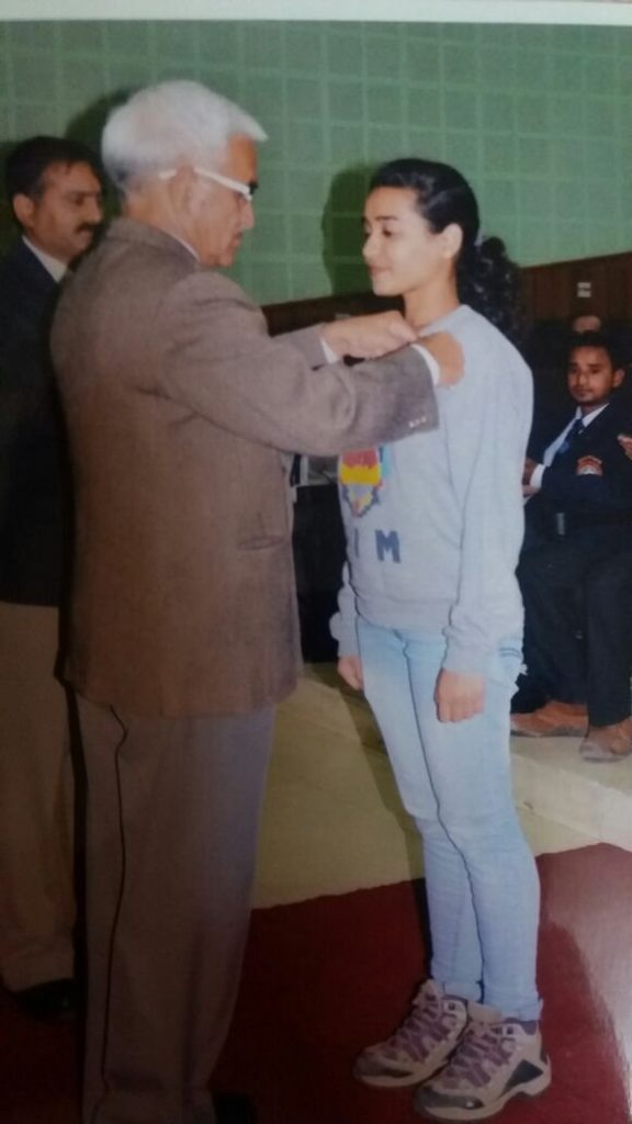 Badge ceremony: Adventure ceremony at Nehru Institute of Mountaineering