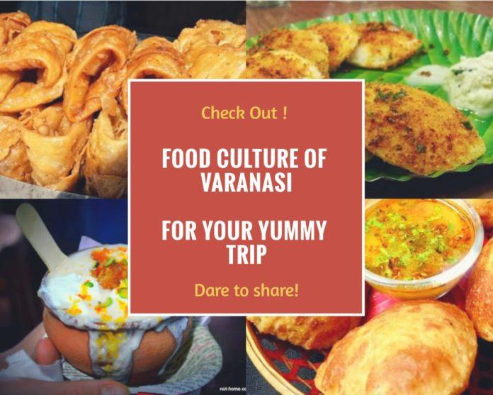 Food culture in Varanasi