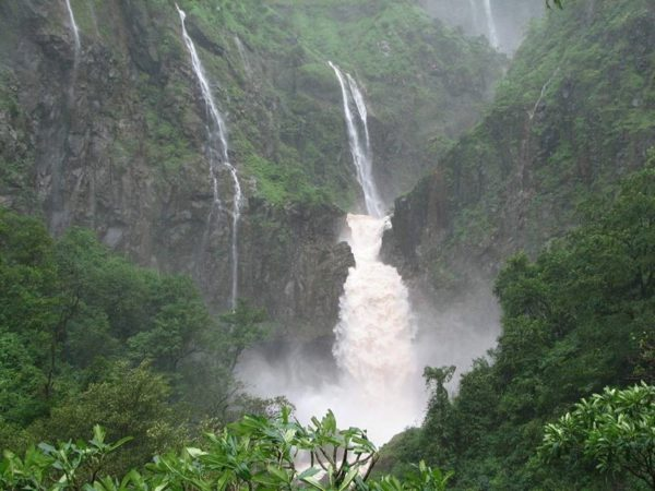 Flabbergasting Falls at amboli