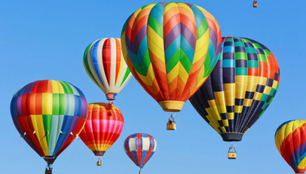 Hot air baloon ride in india
