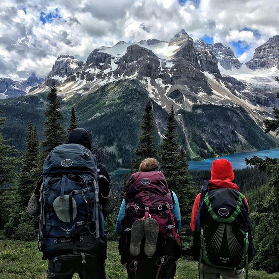 Backpaking, trekking