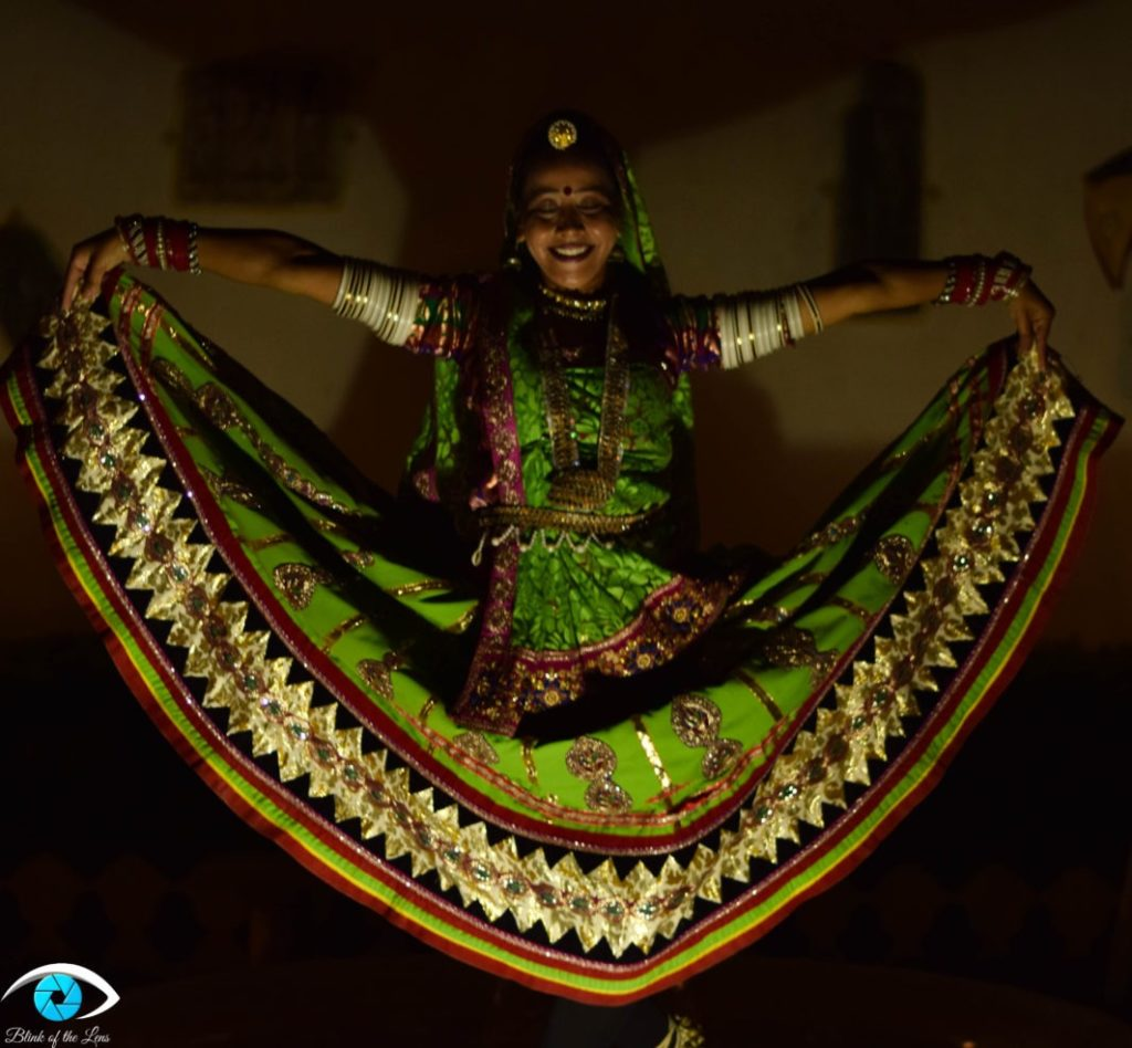 Image of indian dancer