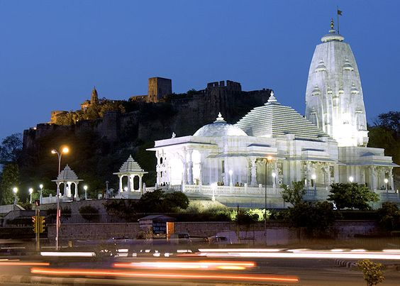 Image of Birla Mandir in Jaipur