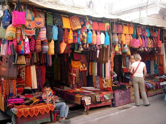 Image of Bapu Bazaar in Jaipur