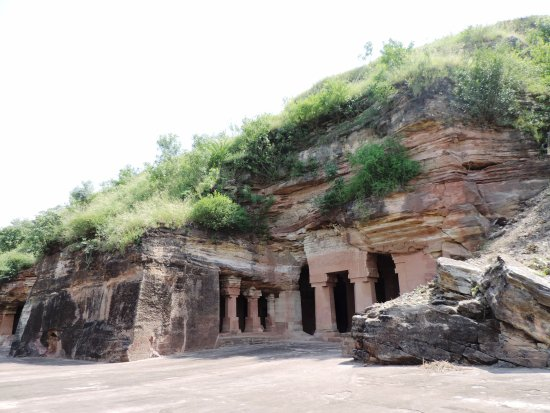 Bagh Caves located in the Dhar District of Madhya Pradesh