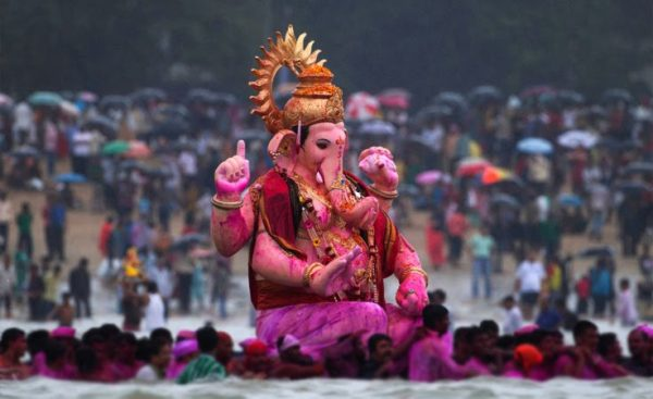 Image of indian god, ganpati babba