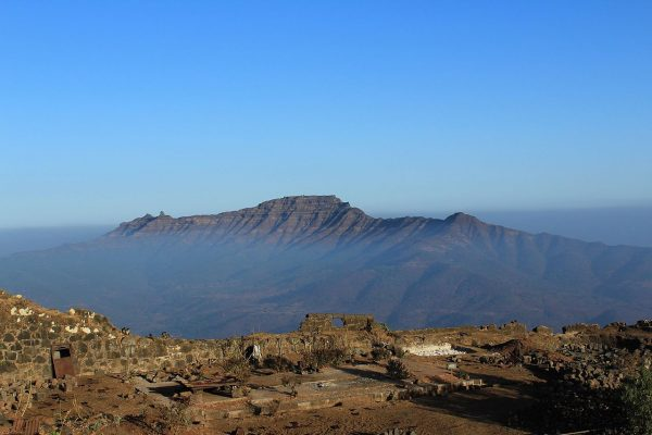 View of Torna Fort from Raigad